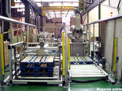 Importância dos paletes para manuseio industrial