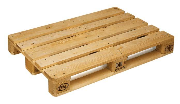 Paletes de madeira são ambientalmente melhores