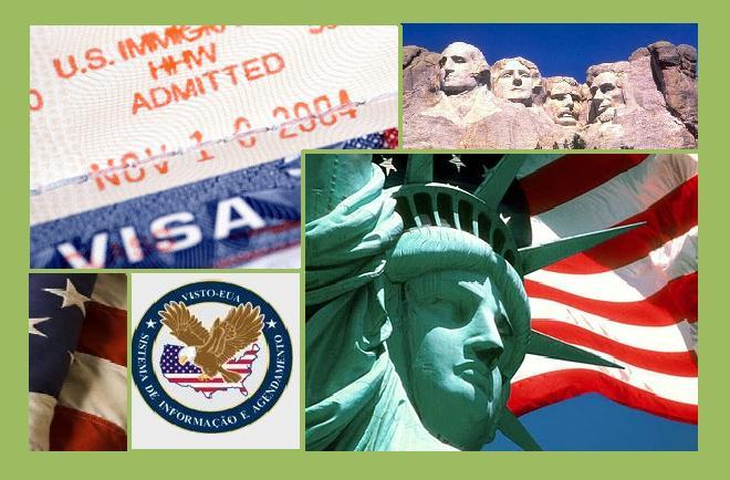 Mudança do status de visto dos EUA