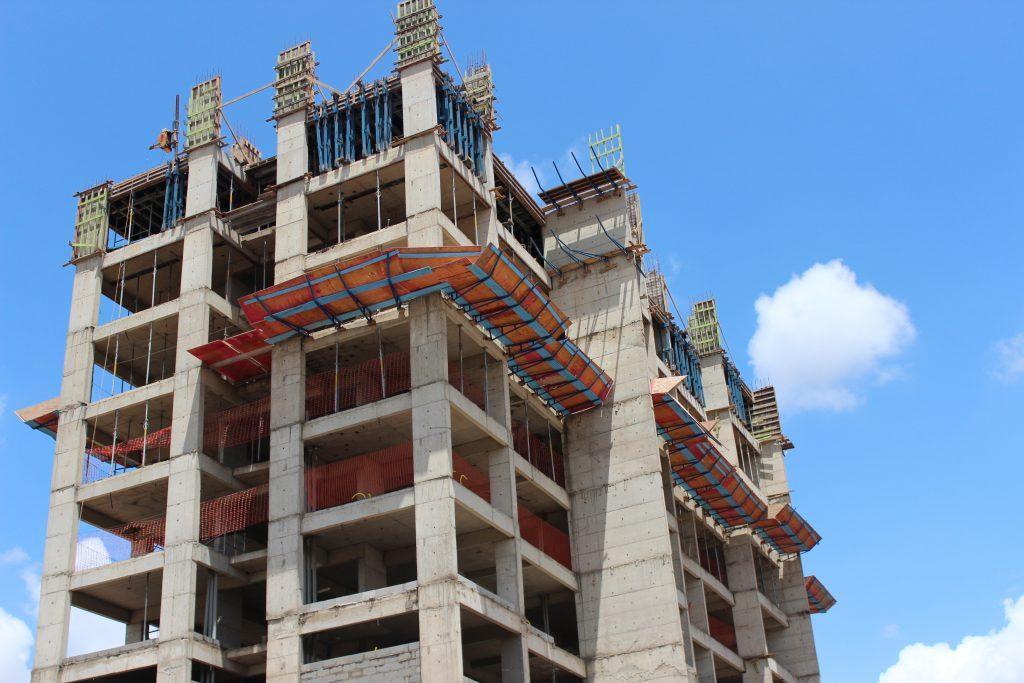 Etapas da construção de prédios